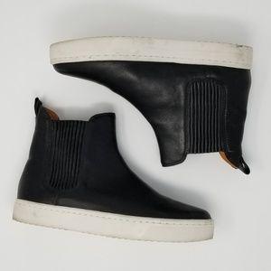 Loeffler Randall Leather Sneaker Bootie